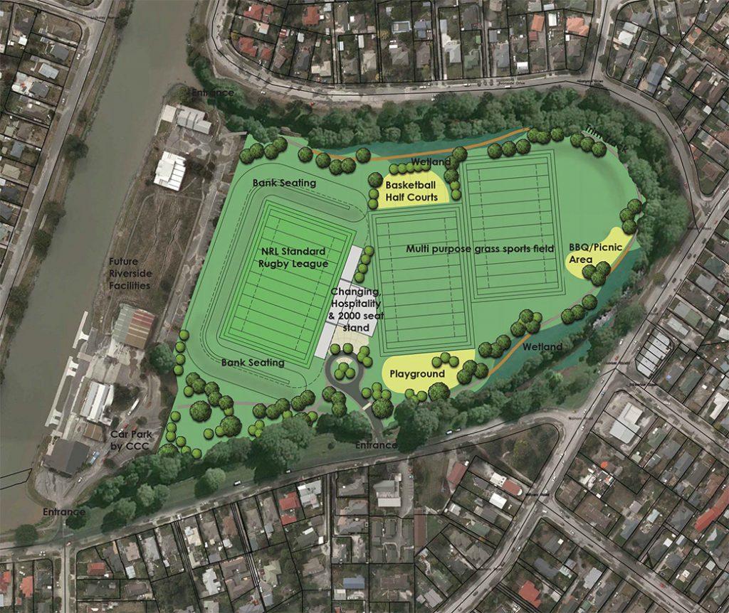 Christchurch Porrit Park